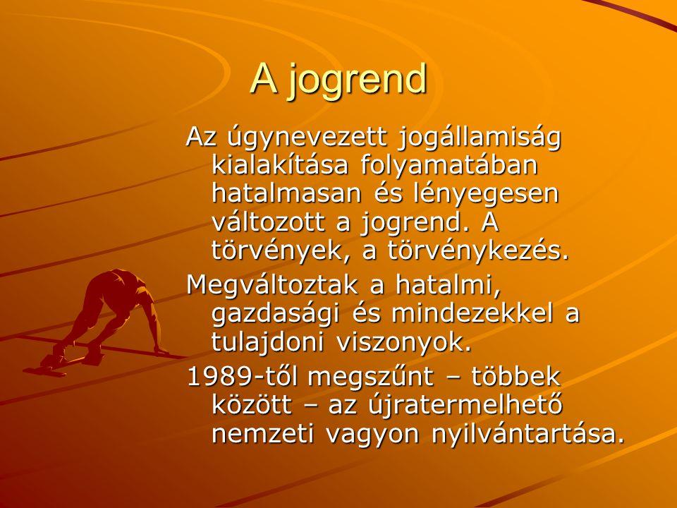 A tulajdoni viszonyok Ma Magyarországon nincs – nyilvános – ország-leltár, azaz azt sem tudjuk mivel rendelkezünk, rendelkezhetünk.