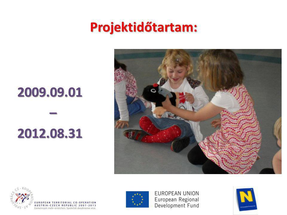 Projektidőtartam: 2009.09.01 – – 2012.08.31