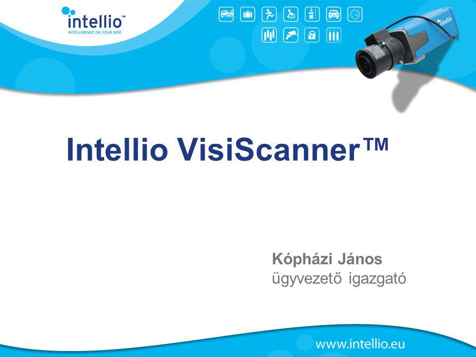 Intellio VisiScanner™ Kópházi János ügyvezető igazgató