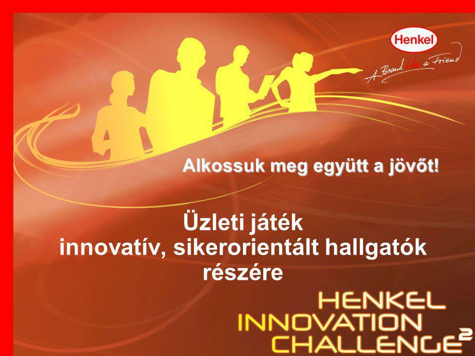 Alkossuk meg együtt a jövőt! Üzleti játék innovatív, sikerorientált hallgatók részére