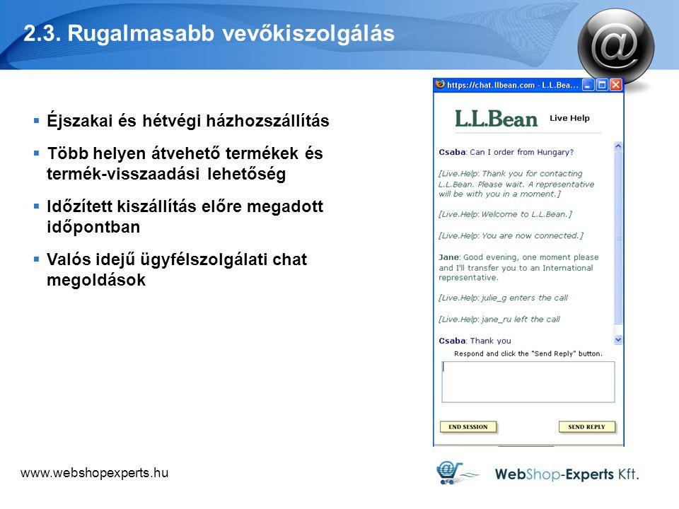 www.webshopexperts.hu 2.3.