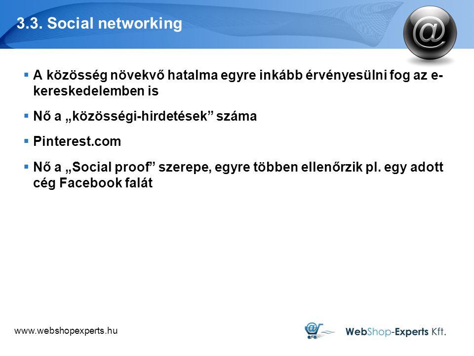 www.webshopexperts.hu 3.3.