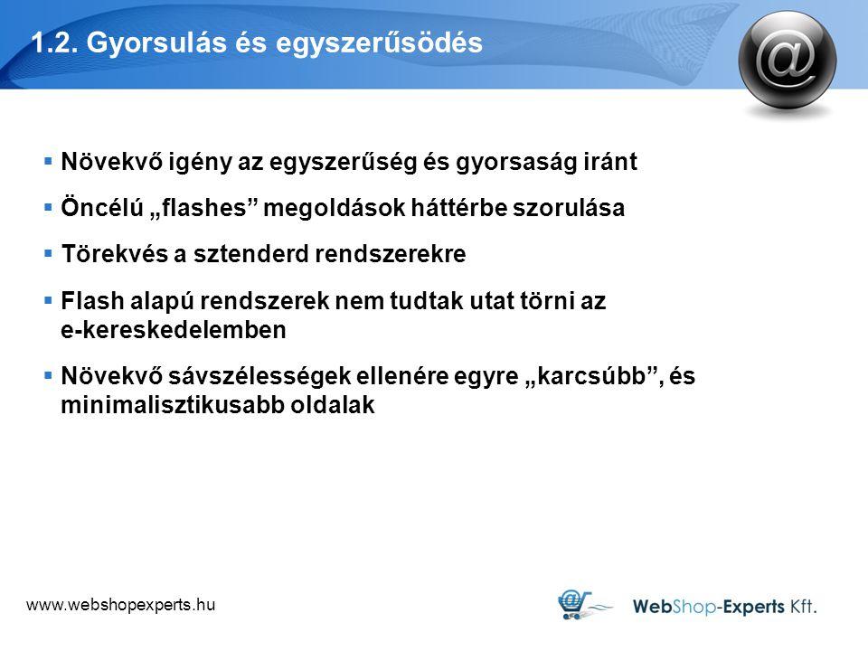www.webshopexperts.hu 3.2.A vevők növekvő hatalma  A vásárlói vélemények a 2.