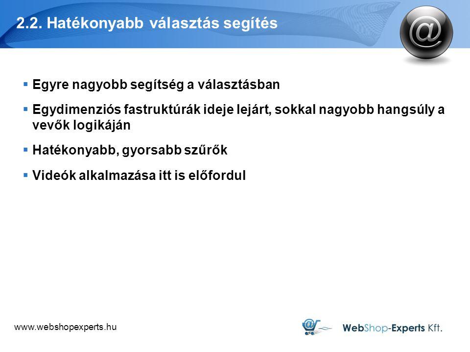 www.webshopexperts.hu 5. Remarketing