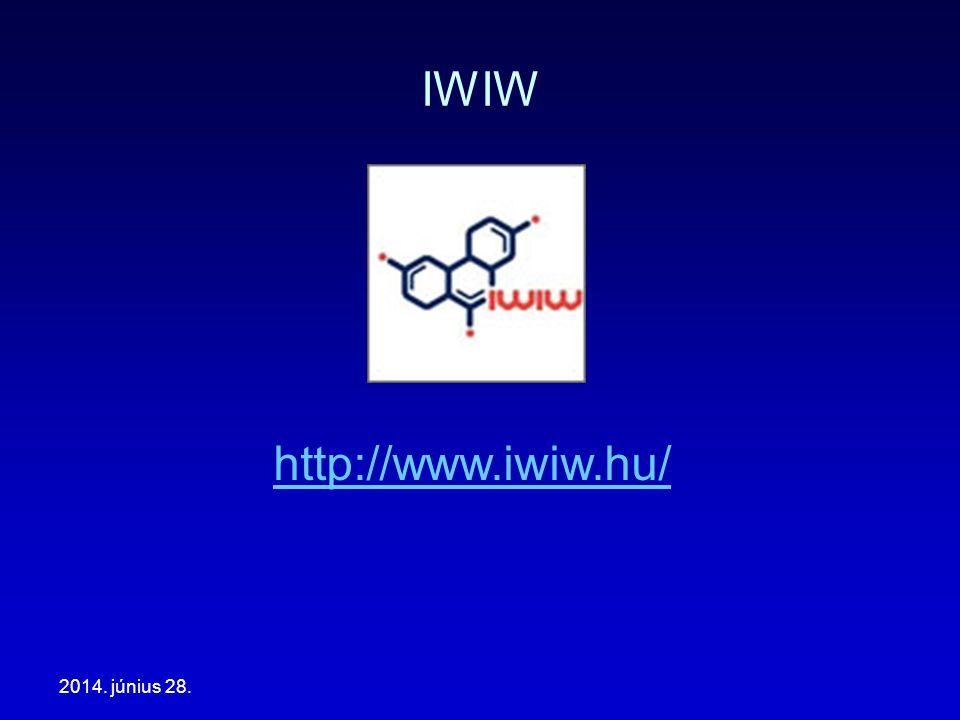 2014. június 28. IWIW http://www.iwiw.hu/