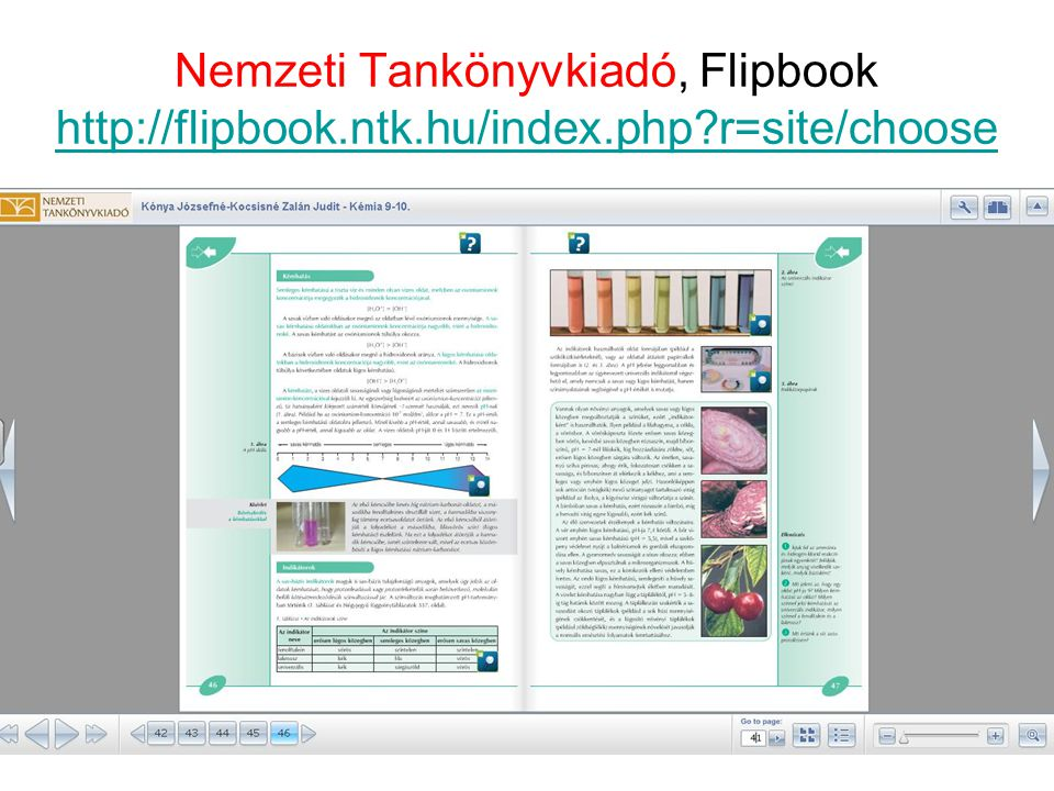 Nemzeti Tankönyvkiadó, Flipbook http://flipbook.ntk.hu/index.php?r=site/choose http://flipbook.ntk.hu/index.php?r=site/choose 30