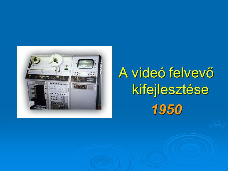 Az elektronikus tévézés születése 1930