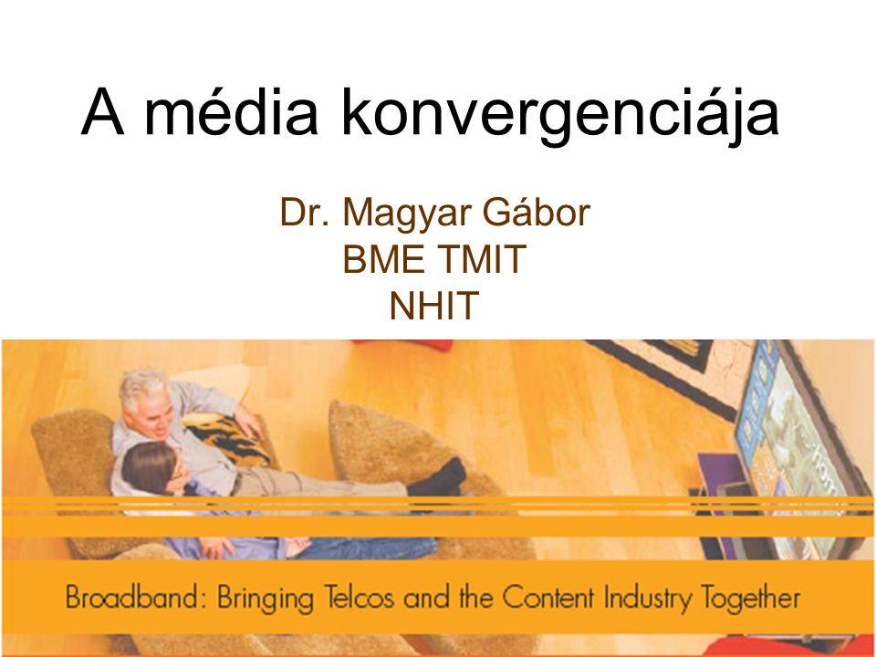 A média konvergenciája Dr. Magyar Gábor BME TMIT NHIT