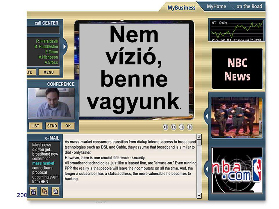 2006. 10. 5.6. HTE Kongresszus37 Nem vízió, benne vagyunk.