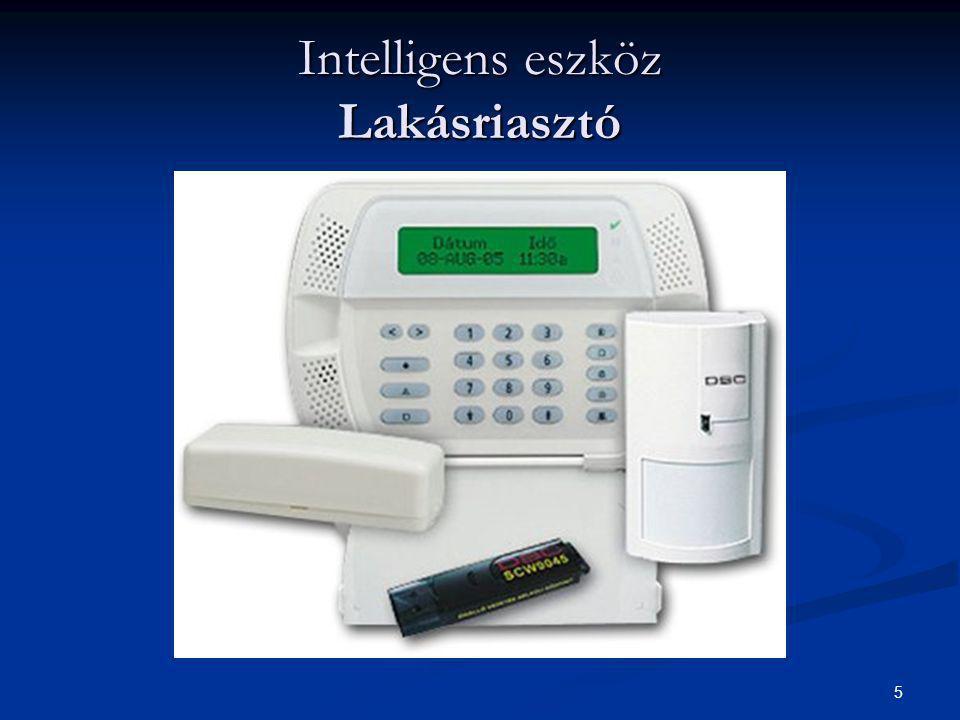 5 Intelligens eszköz Lakásriasztó