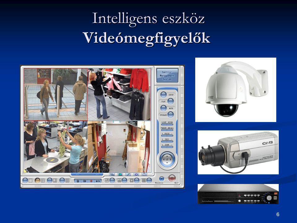6 Intelligens eszköz Videómegfigyelők Intelligens eszköz Videómegfigyelők