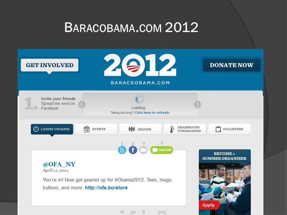 B ARACOBAMA. COM 2012