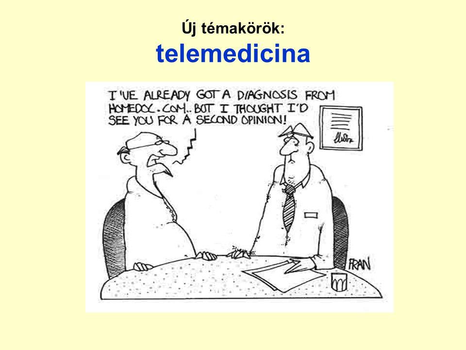 Új témakörök: telemedicina