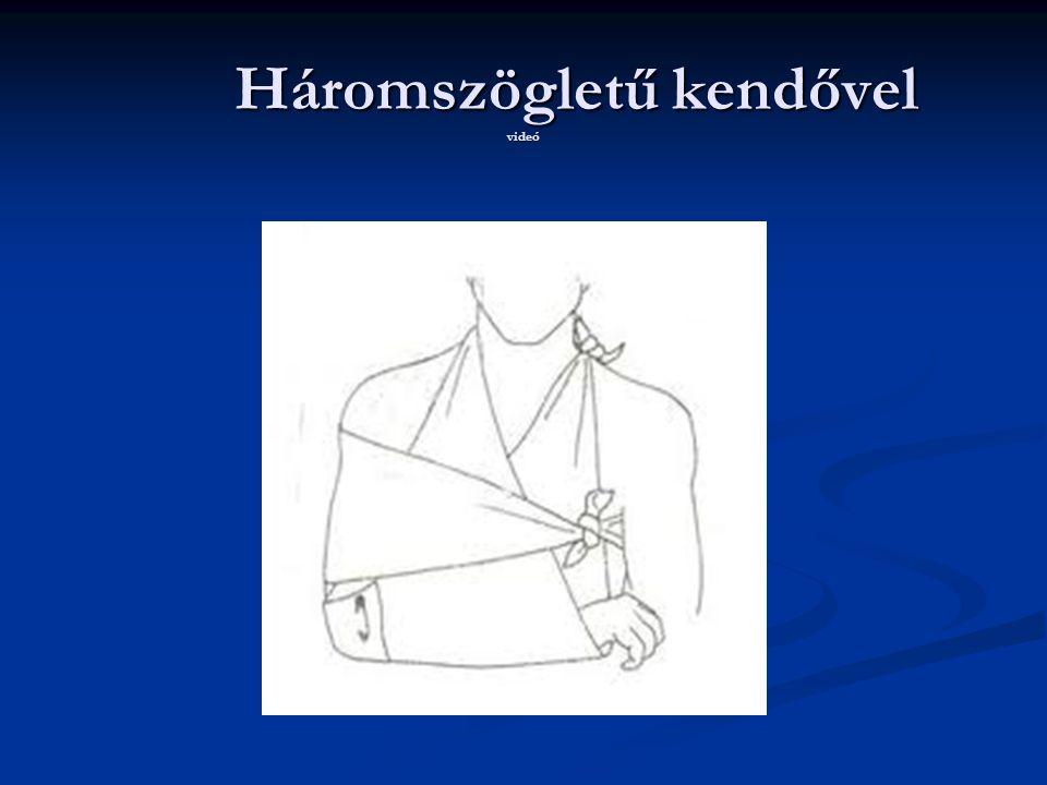 Háromszögletű kendővel videó