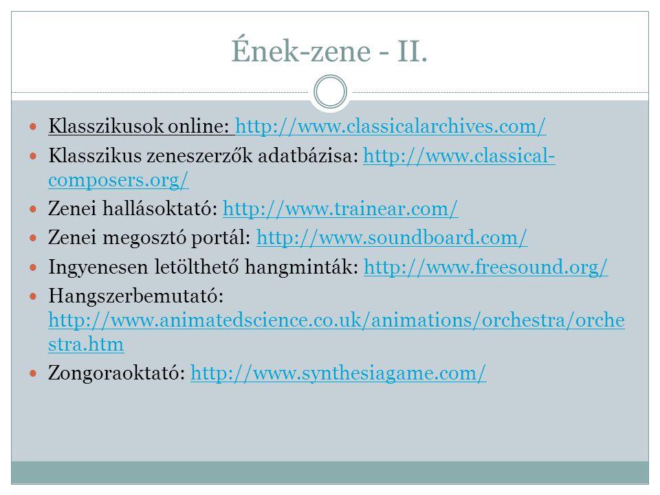 Ének-zene - II.