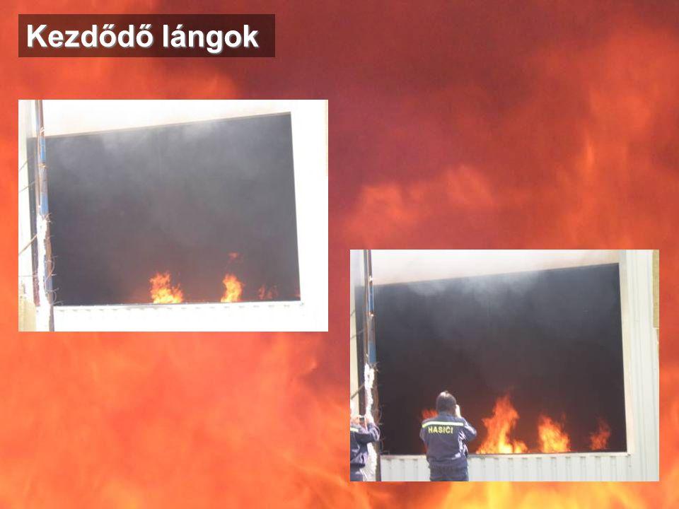 Kezdődő lángok