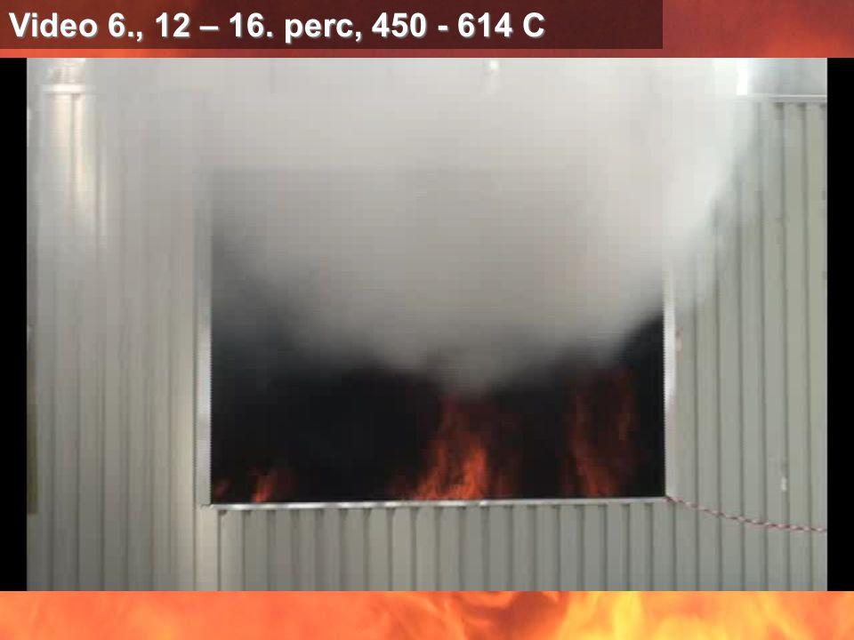 Video 6., 12 – 16. perc, 450 - 614 C