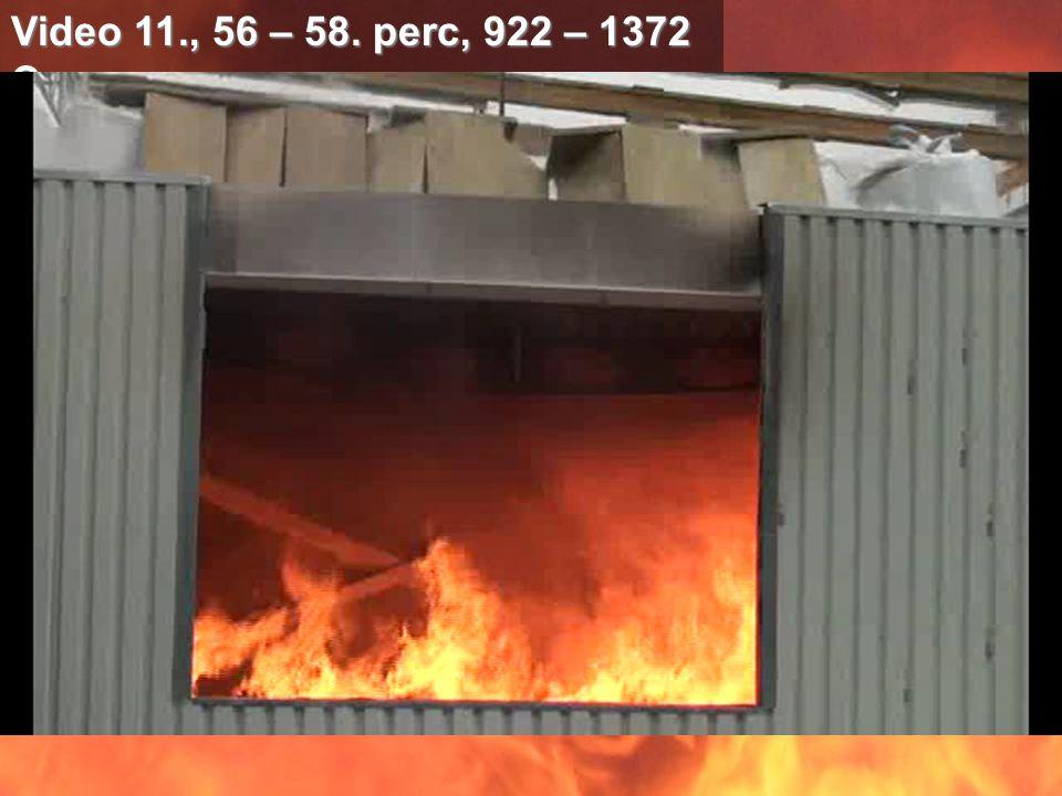 Video 11., 56 – 58. perc, 922 – 1372 C