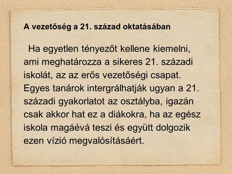 A vezetőség a 21.