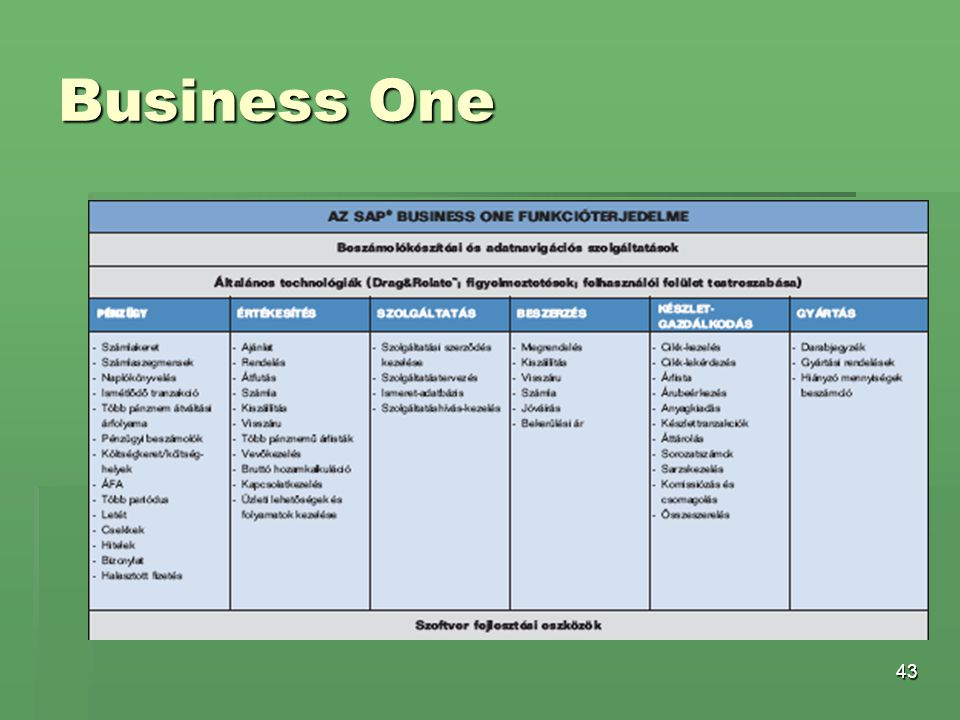 43 Business One