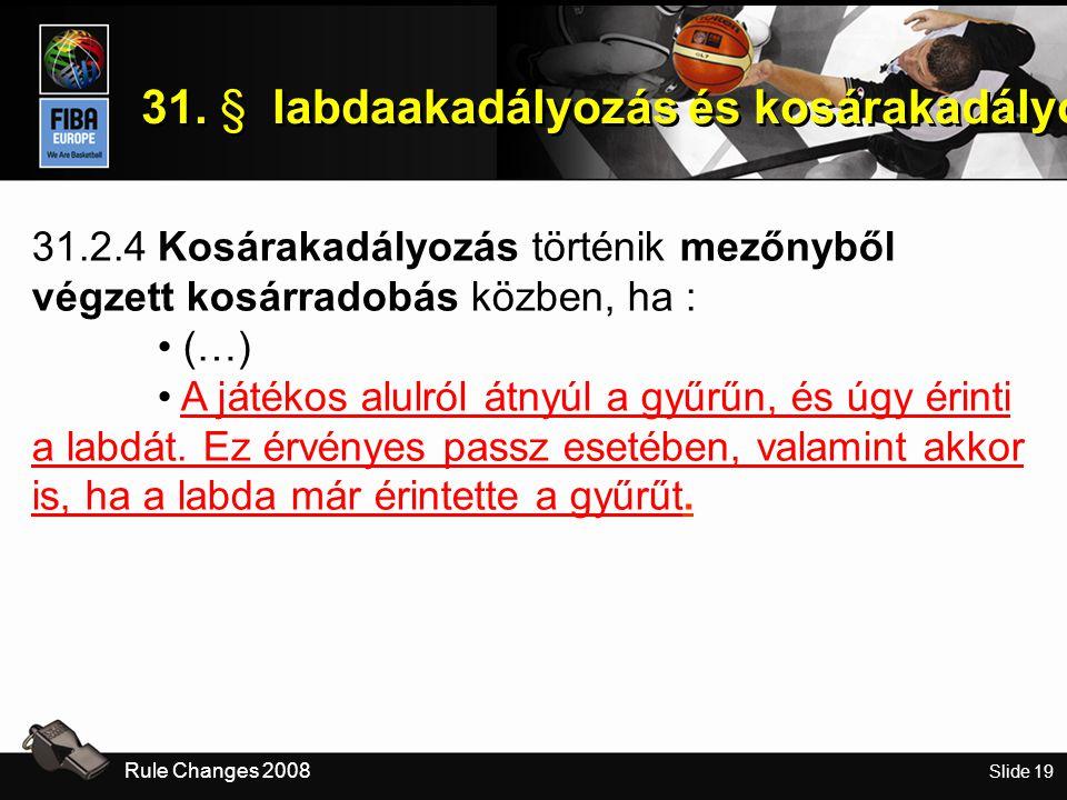 Slide 19 31.
