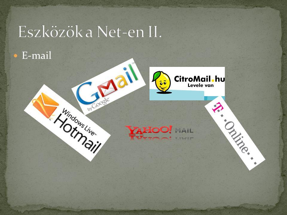  Honlapok (.hu,. com,.gov,.net stb)
