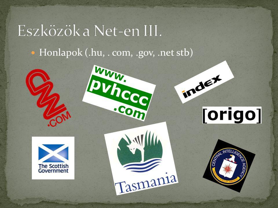  Közösségi felületek (iwiw, facebook, twitter, linked in)