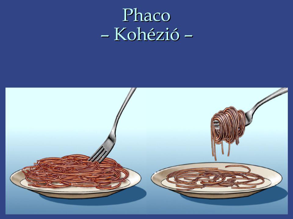 Phaco – Kohézió –