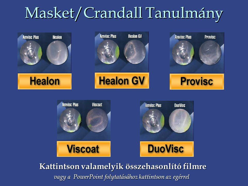 Masket/Crandall Tanulmány Kattintson valamelyik összehasonlító filmre vagy a PowerPoint folytatásához kattintson az egérrel