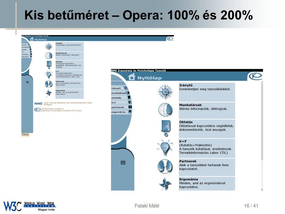 DSD Pataki Máté16 / 41 Kis betűméret – Opera: 100% és 200%