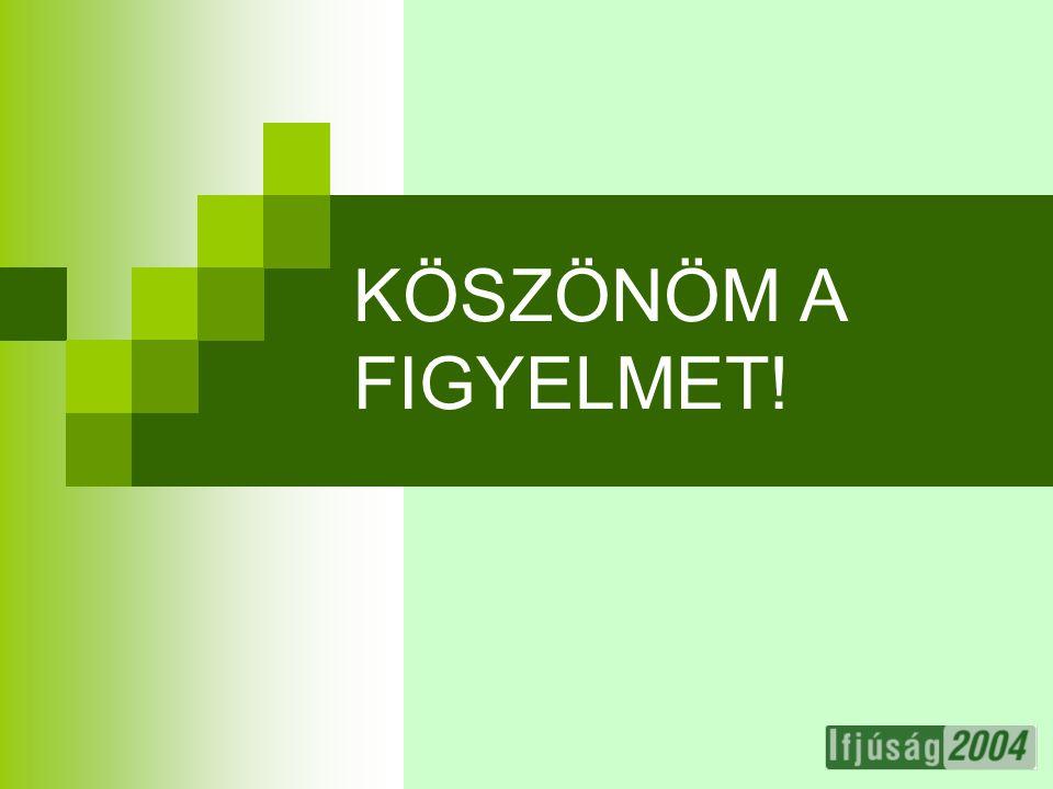 27 KÖSZÖNÖM A FIGYELMET!
