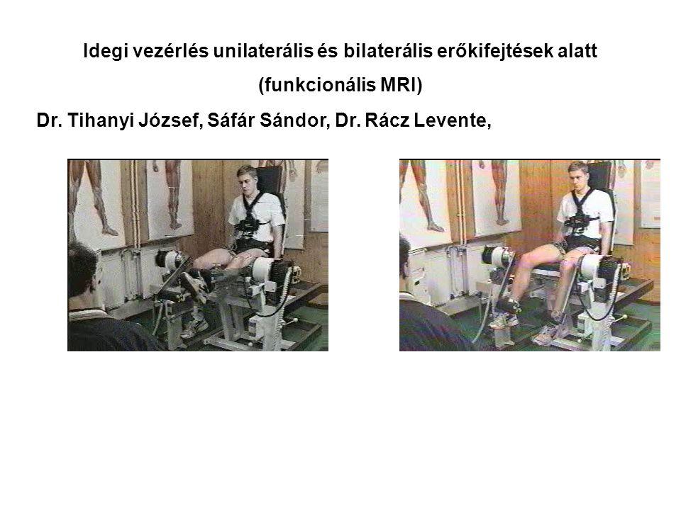 Elasztikus energiafelhasználás függőleges felugrás alatt Dr. Tihanyi József, Dr. Rácz Levente, Kopper Bence