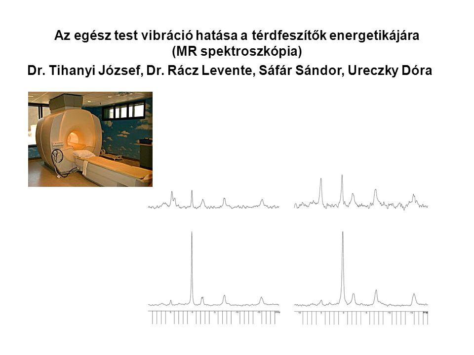 Az egész test vibráció hatása a dinamikus erő fejlődésére Dr. Tihanyi József, Dr. Rácz Levente, Sáfár Sándor, Ureczky Dóra
