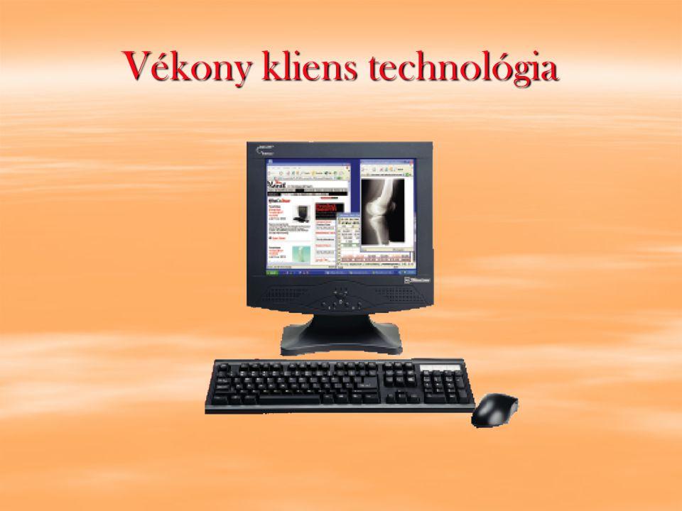 Vékony kliens technológia