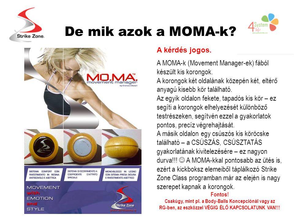 De mik azok a MOMA-k. A kérdés jogos. A MOMA-k (Movement Manager-ek) fából készült kis korongok.