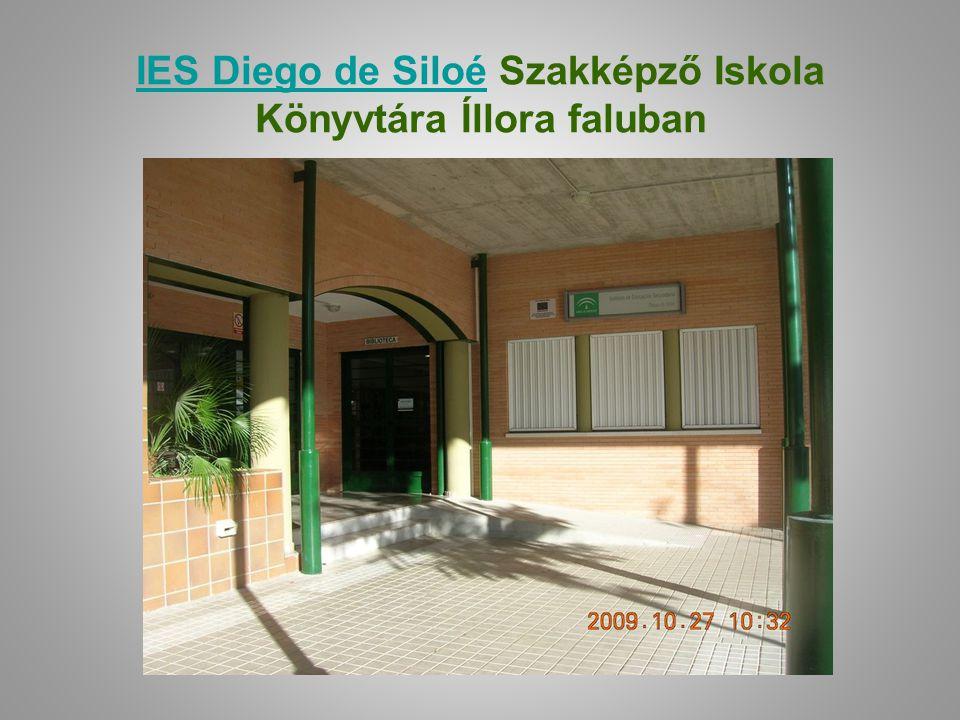 IES Diego de SiloéIES Diego de Siloé Szakképző Iskola Könyvtára Íllora faluban