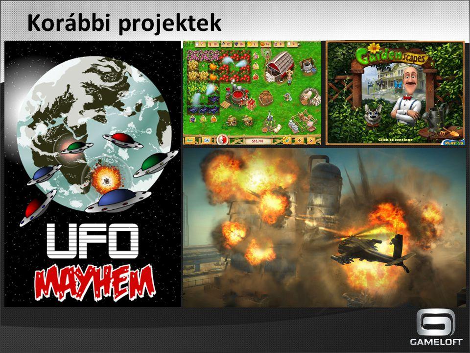A Gameloftról - 1999 óta a mobil platform vezető játékfejlesztő cége - 2012 óta Magyarországon - világszerte mintegy 5000 alkalmazott - több, mint 1000000 letöltés naponta