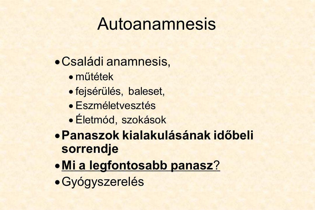 CT •Ischemia, vérzés, tumoros folyamatok, tályog, degeneratív folyamatok, traumák.