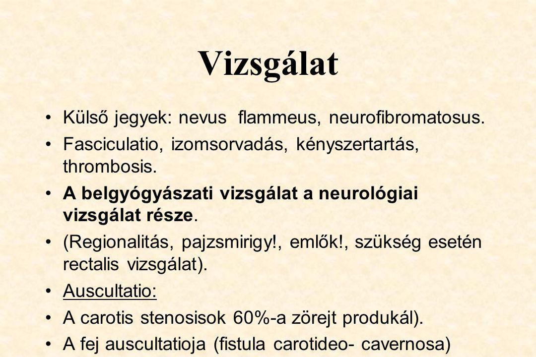 Ultrahang vizsgálatok 3. Echocardiographia:transthoracalis, ill.