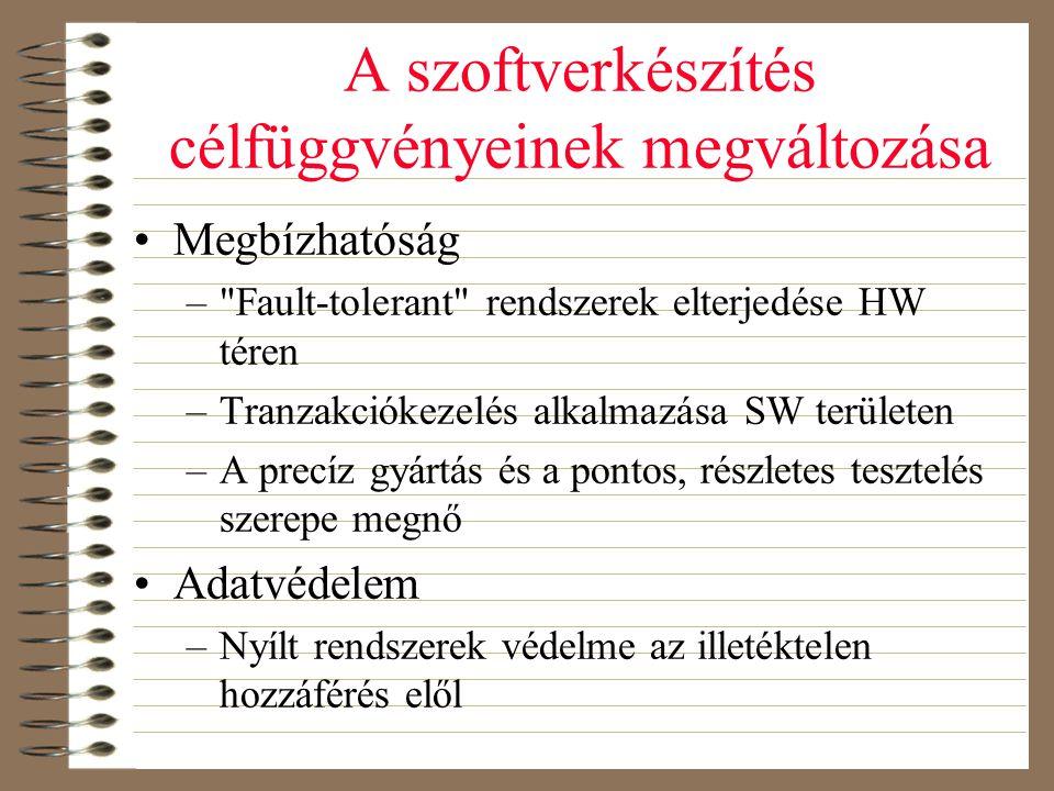 Szelekció •Explicit vagy implicit –Egy betű kiszelektálása az egész paragrafust is •Egy vagy több objektum –Tartomány (range) vagy szórt (disjoint) jellegű •Homogén vagy heterogén –Pl.