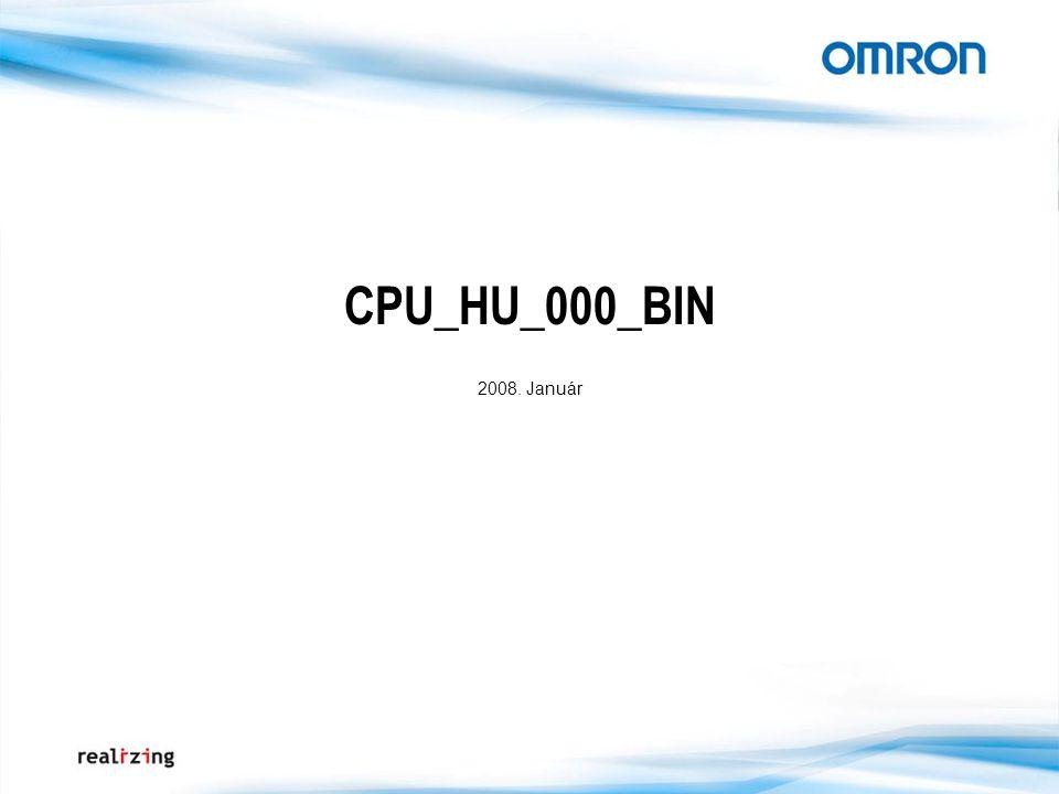 CPU_HU_000_BIN 2008. Január
