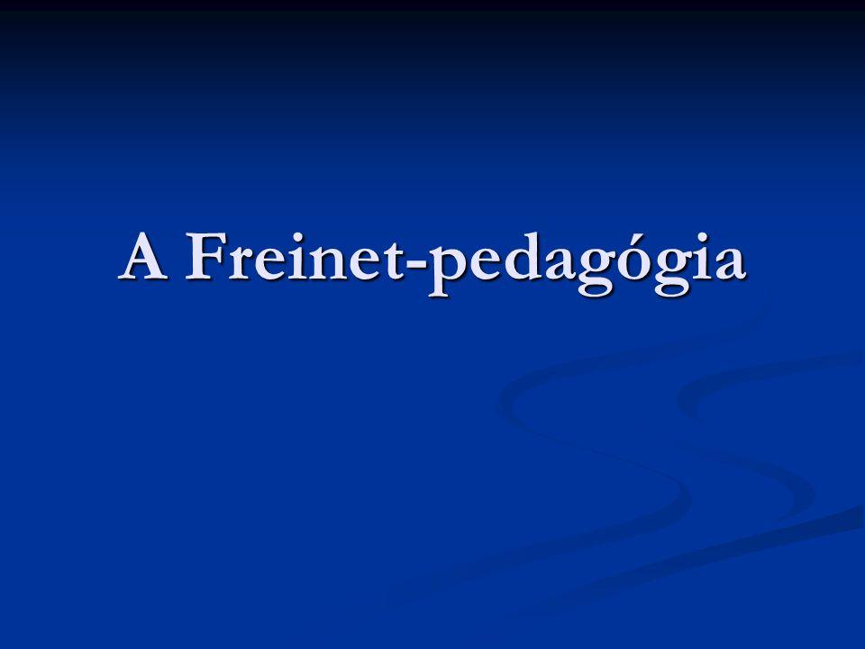 A Freinet-pedagógia