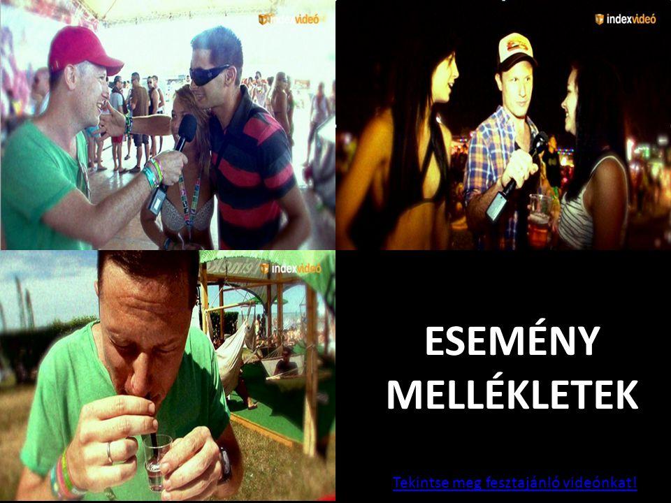 ESEMÉNY MELLÉKLETEK 11 Tekintse meg fesztajánló videónkat!