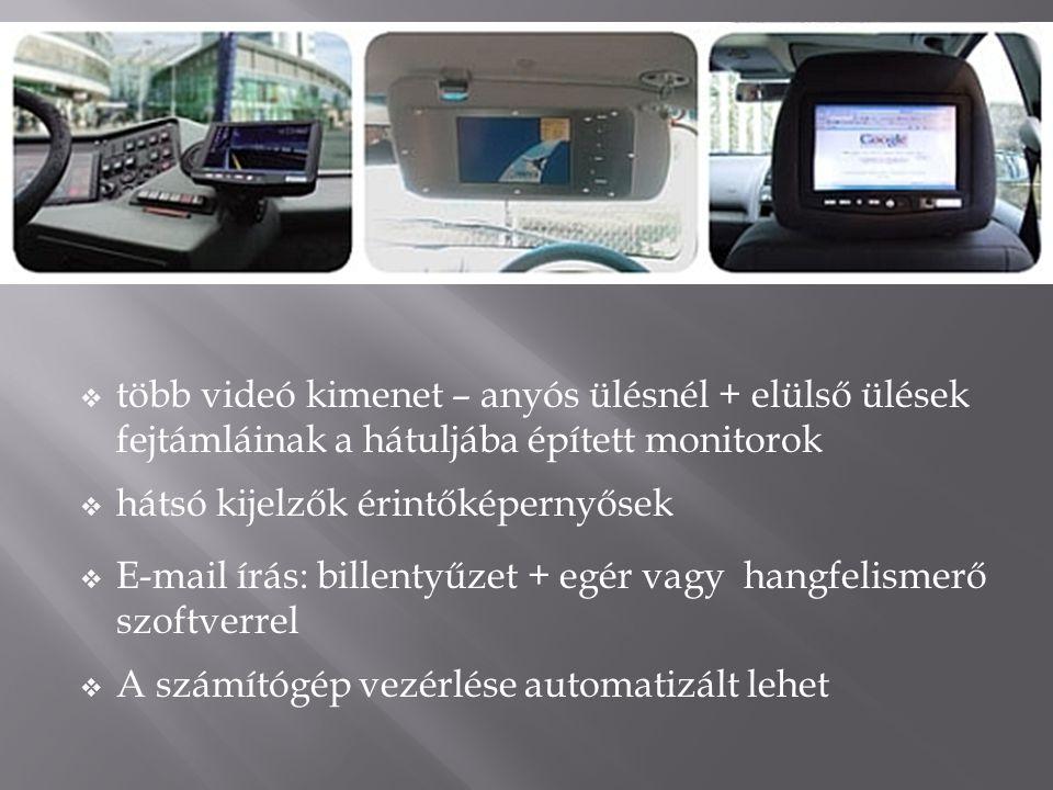 Laptop háttértár és laptop DVD drive  Hűtés: két nagyobb méretű ventilátorral  Külső táp: a belső hőmérséklet könnyebben tartható alacsonyan