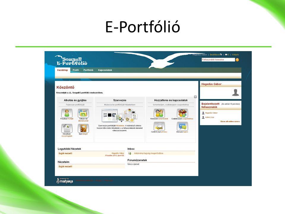 E-Portfólió