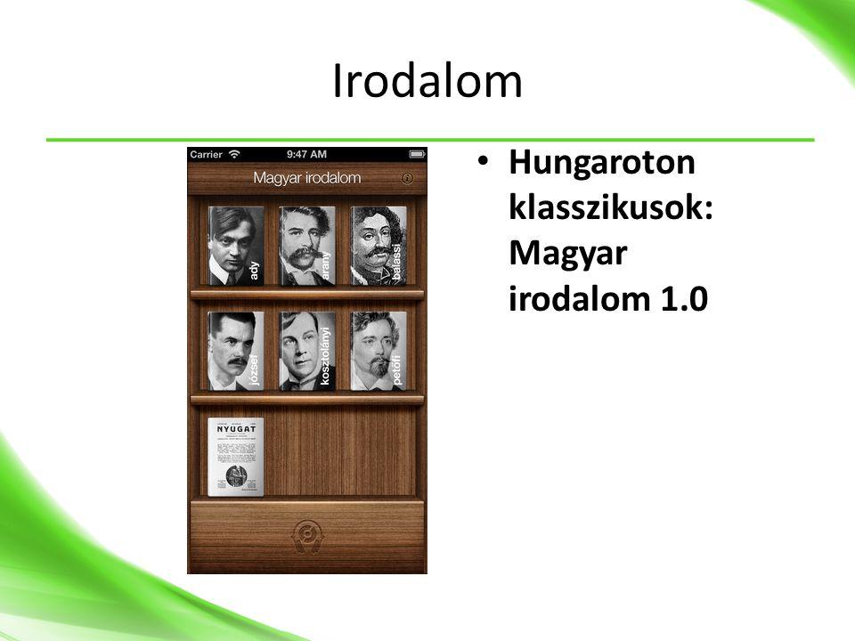 Irodalom • Hungaroton klasszikusok: Magyar irodalom 1.0