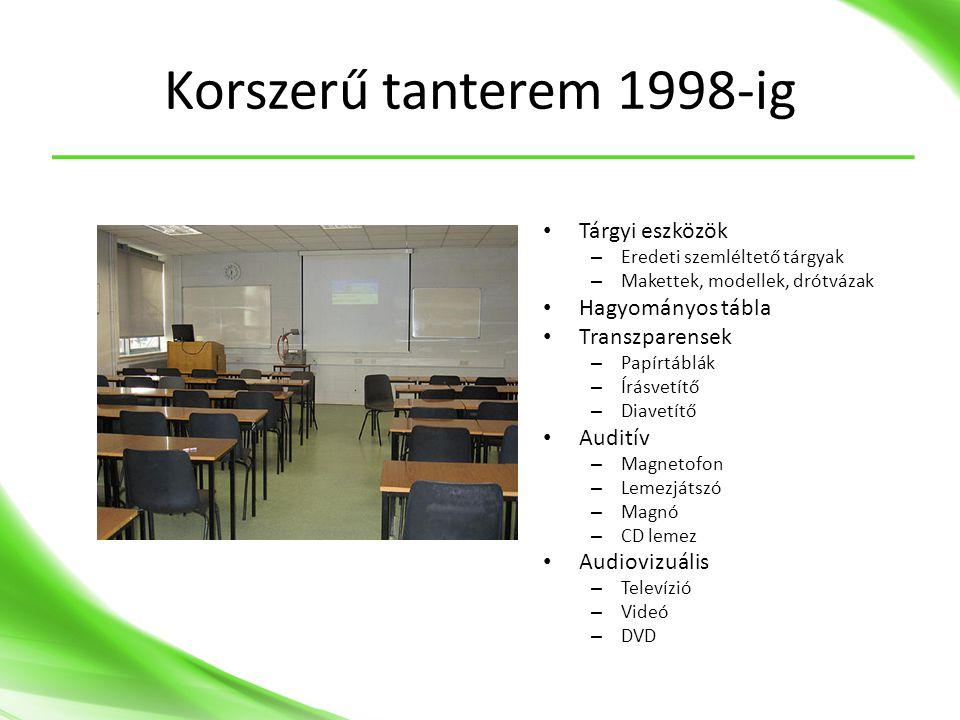 Teamviewer • Távoli vezérlés: Egyszerűen vezérelhet távoli gépet – Teljes körű vezérlés – Audio átviteli lehetőség – Fájldoboz: Fájlok könnyű átvitele • Online megbeszélések • Képernyő/prezentáció megosztás • Ingyenes (nem üzleti célra) • http://www.teamviewer.com/hu http://www.teamviewer.com/hu
