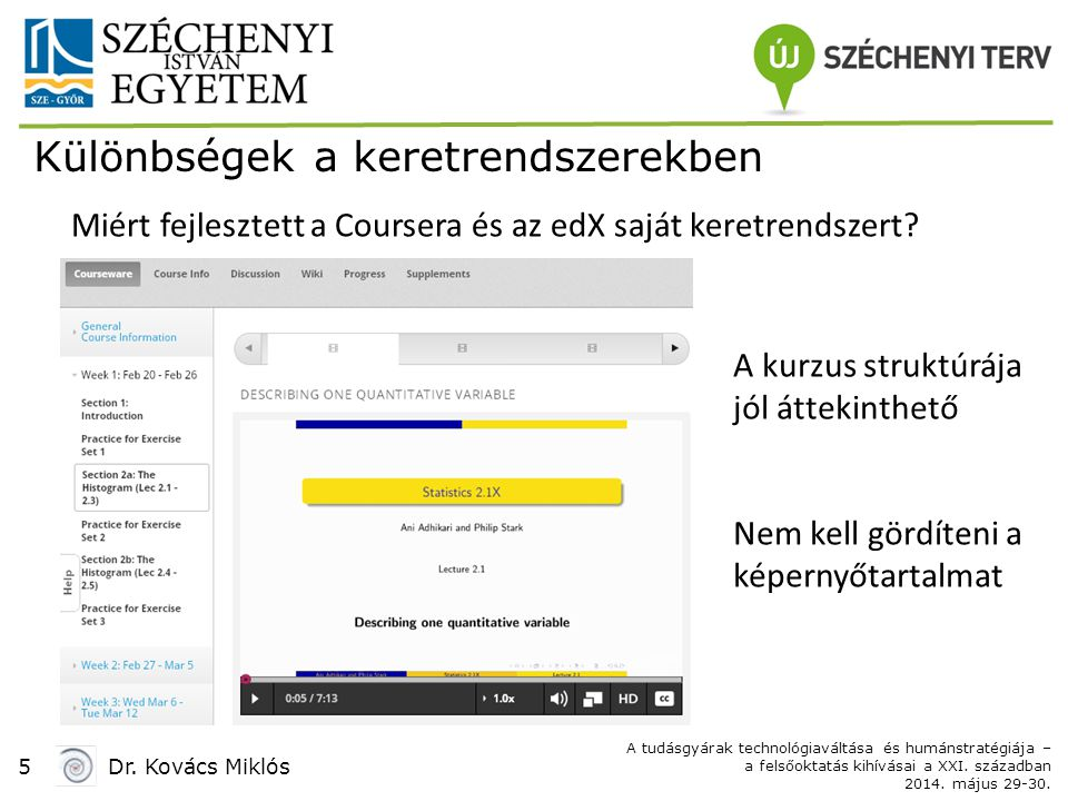 5Dr. Kovács Miklós A tudásgyárak technológiaváltása és humánstratégiája – a felsőoktatás kihívásai a XXI. században 2014. május 29-30. Miért fejleszte