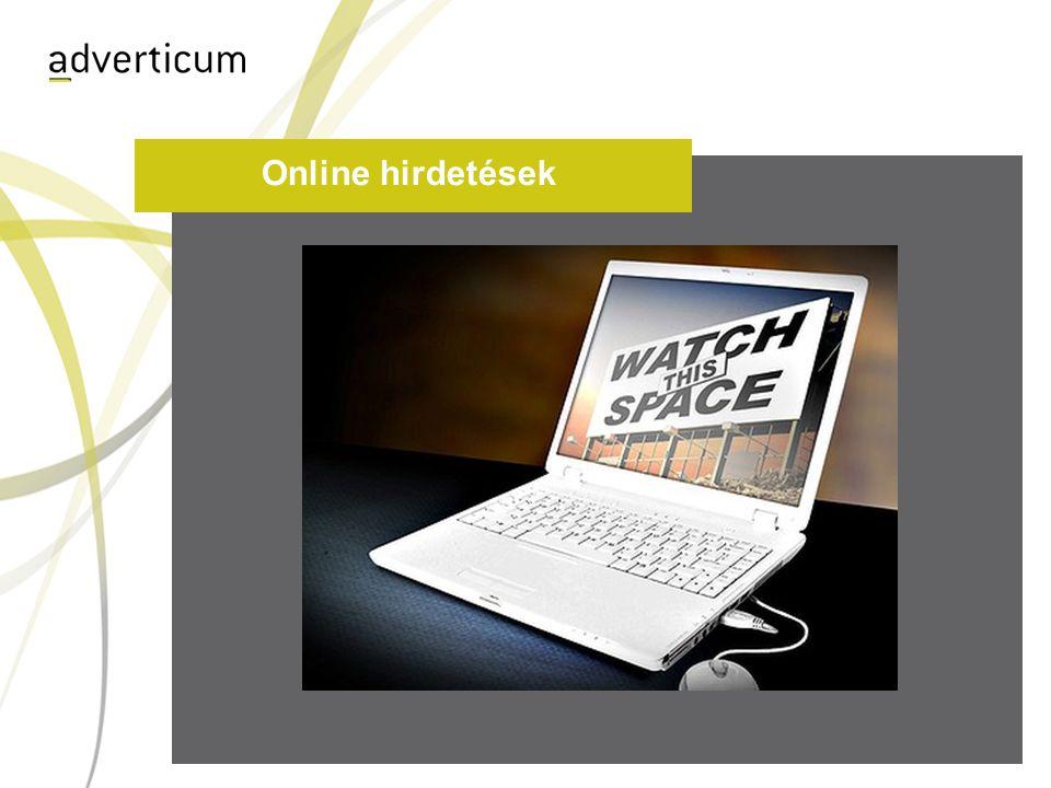 Online hirdetések