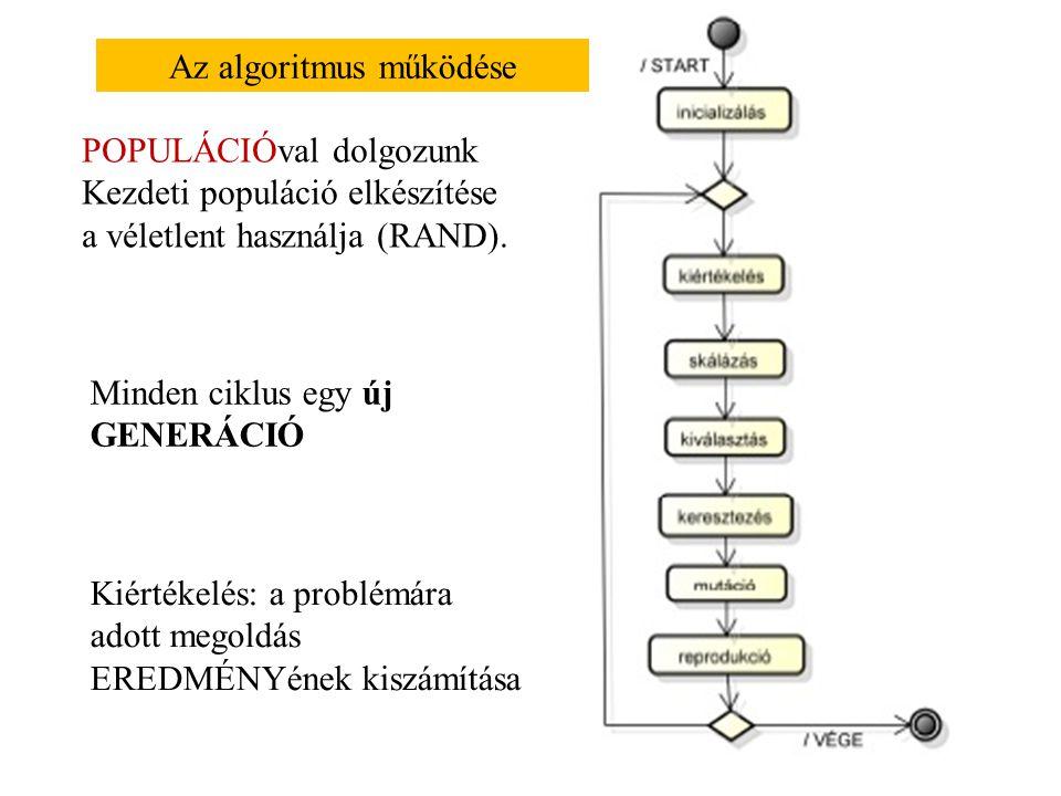 A kanonikus genetikus algoritmus A problémát a hátizsák problémán keresztül vizsgáljuk, amelyik egy befektetési portfólióról szól.